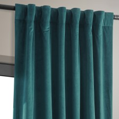 Fabric Chair Covers To Buy Ergo Office Philippines Signature Everglade Teal Blackout Velvet Curtains