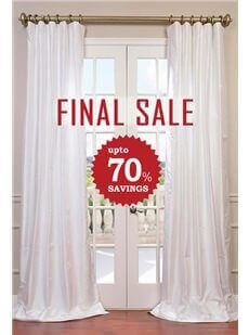 Silk Curtains And Drapes Half Price Drapes