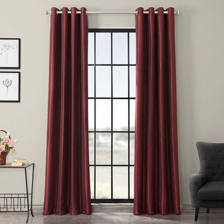 Red Blackout Curtains Half Price Drapes