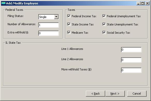 employee tax deductions calculator