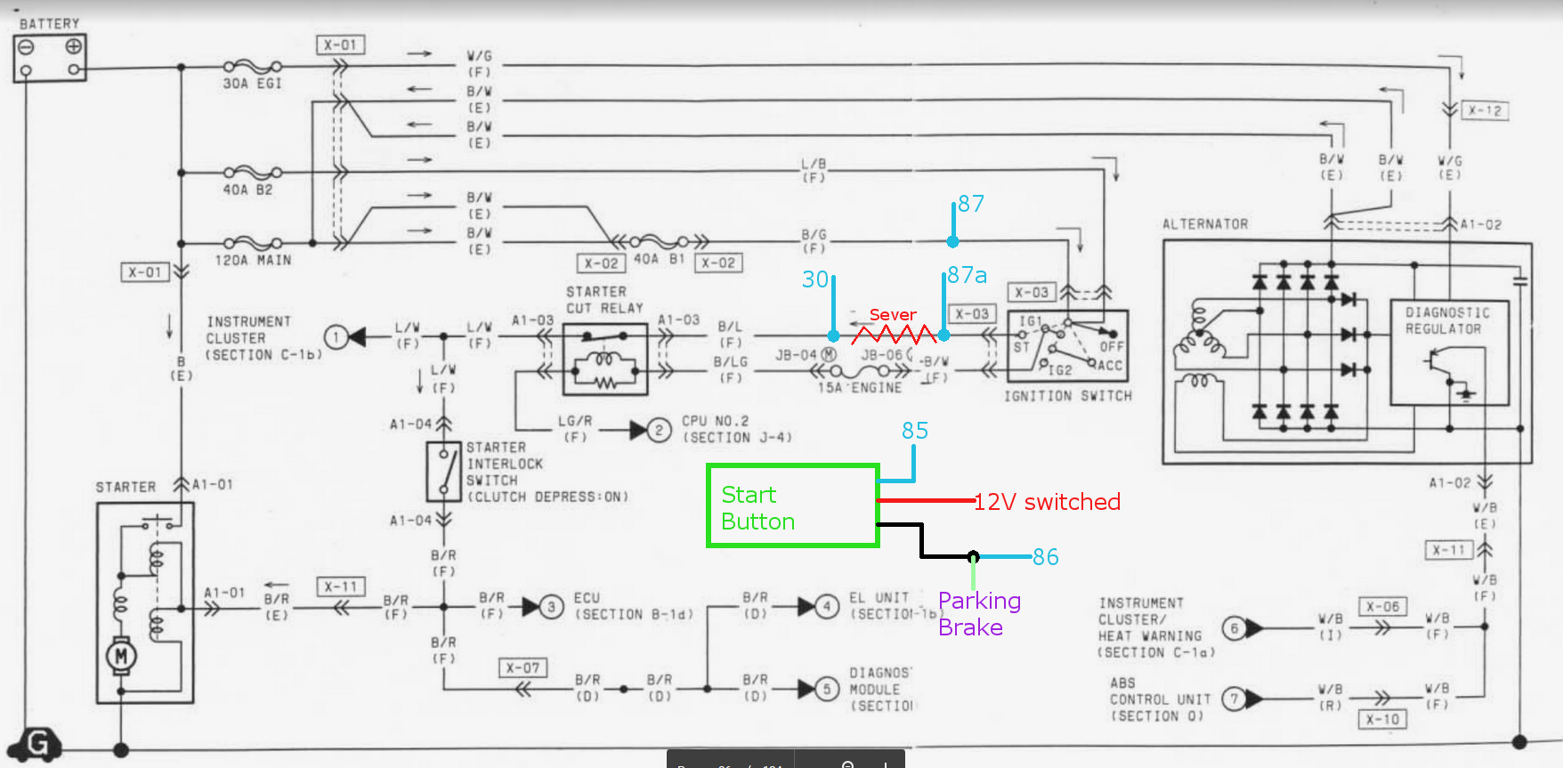 Quick Relay Wiring Clarification