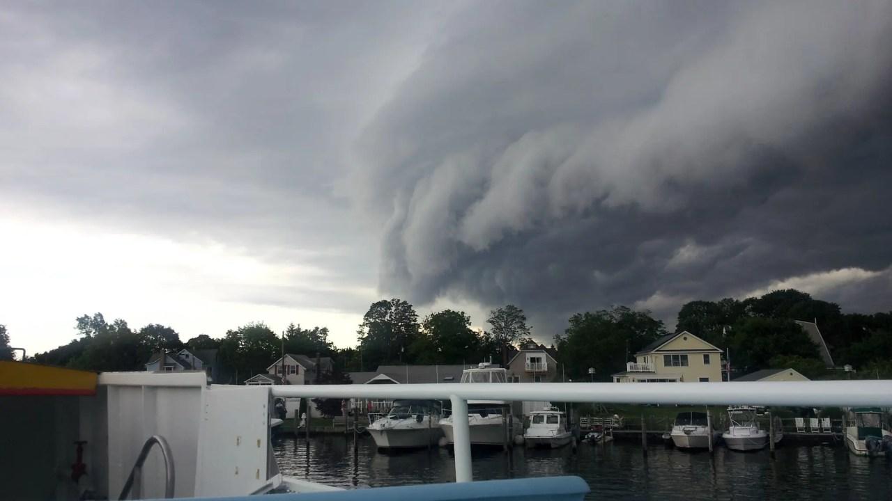 Fire Island Stormfront Approaching