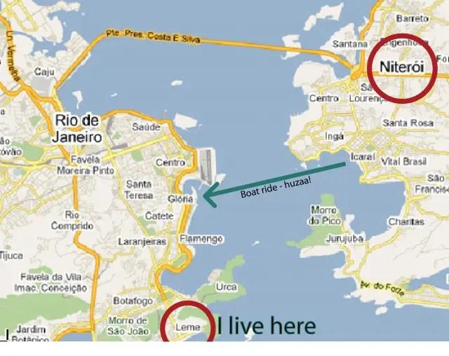 Niterói map