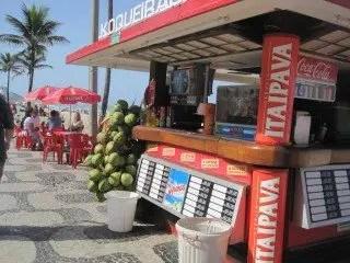 Brazil Beach Eating