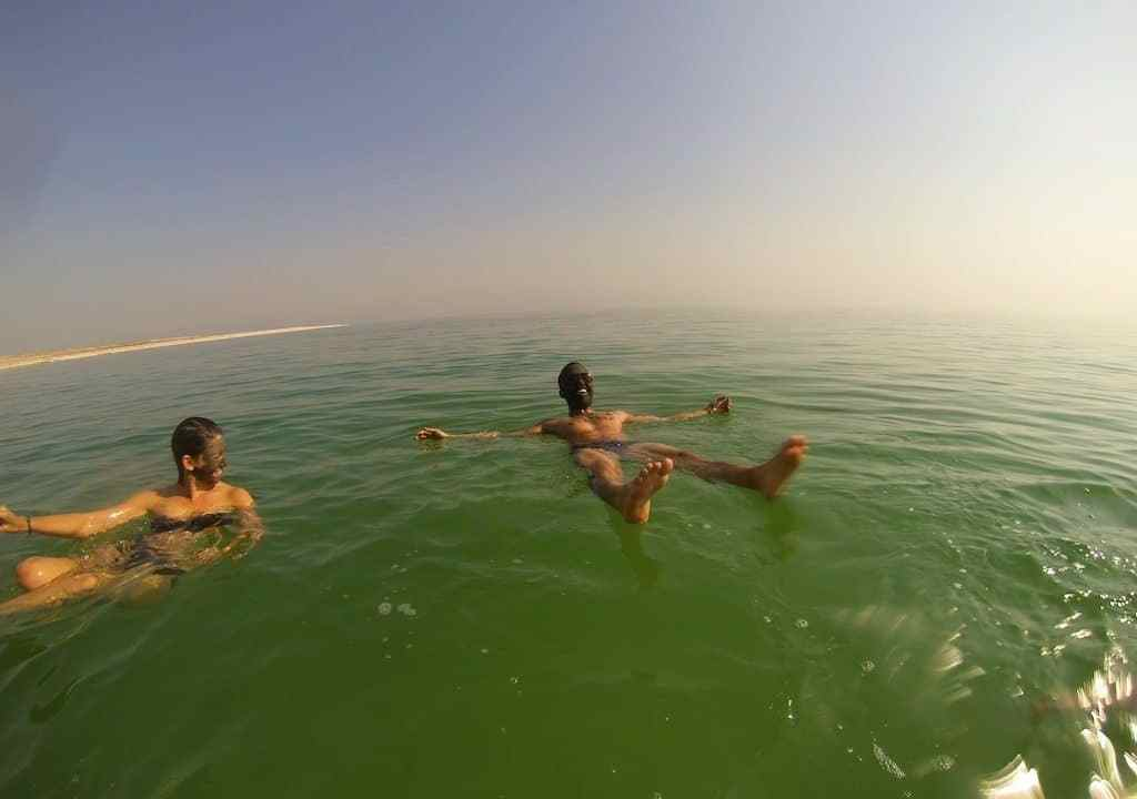 Dead Sea Floating