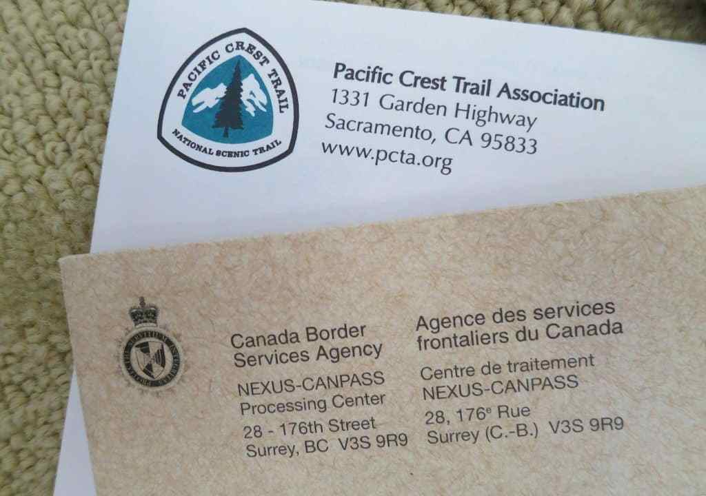 PCT Mail Permits