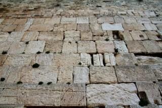 Western Wall Closeup