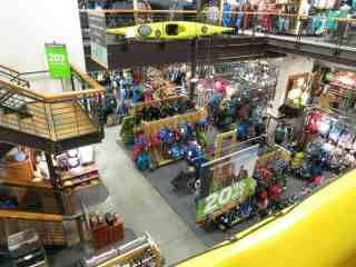 REI Store Inside Overview