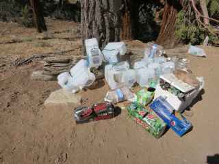 PCT Soda and Water Cache