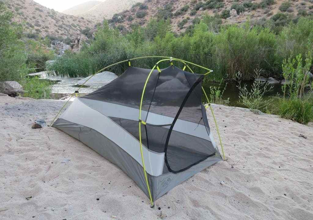 Tent at Hot Springs