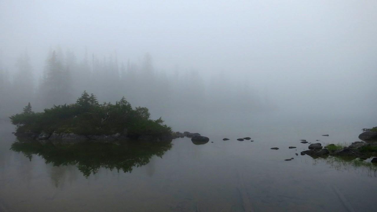 Foggy Deception Lake