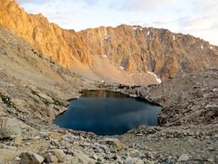 PCT Sierra Lake