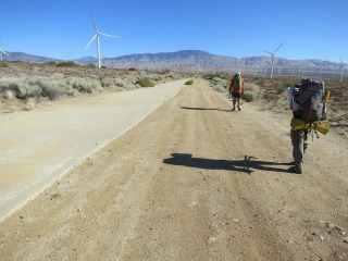 PCT Desert Hiking