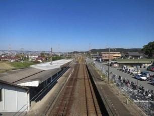 Matsubase Train Stop