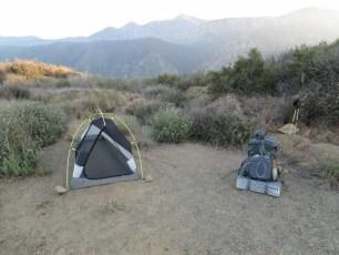 PCT Desert Campsite Tent Pack