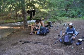 PCT Lunch By River