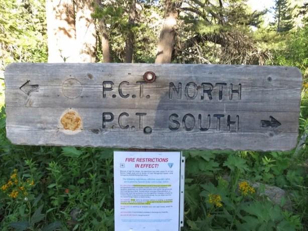PCT North Sign