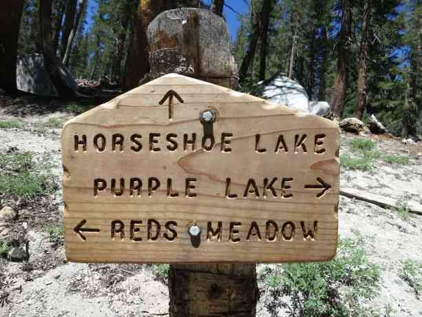 Reds Meadow Sign