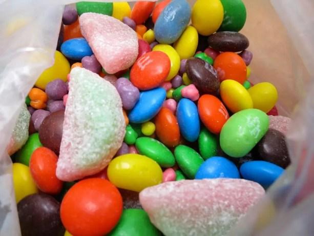5 Candy Bag Closeup