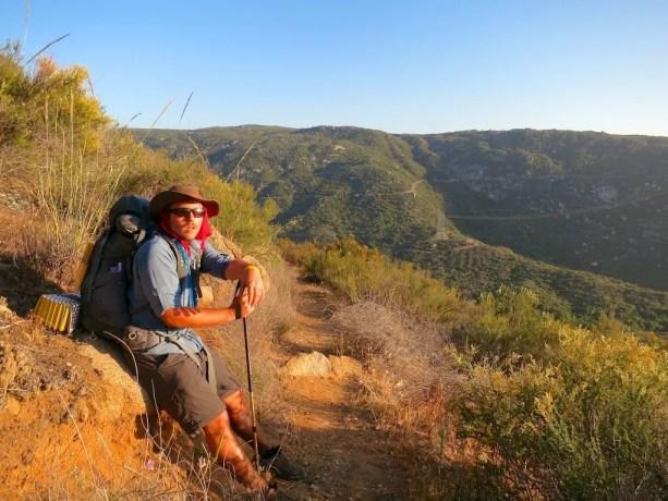 Desert Hiker Self Tired