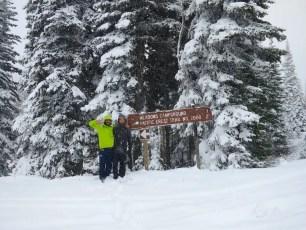 Harts Pass Snow