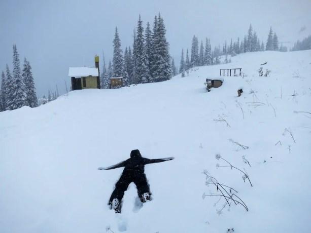 Harts Pass Snow 3