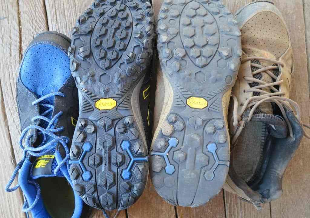 Old and New Shoes