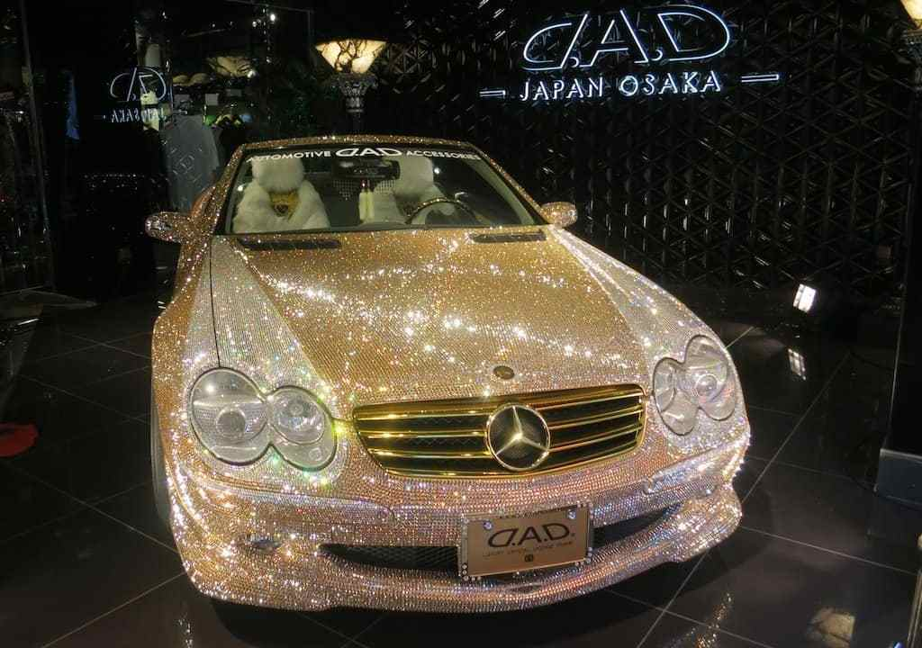 Osaka Bedazzled Mercedes