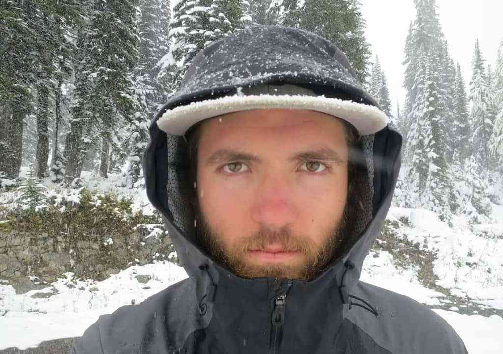 PCT Washington Snow Face