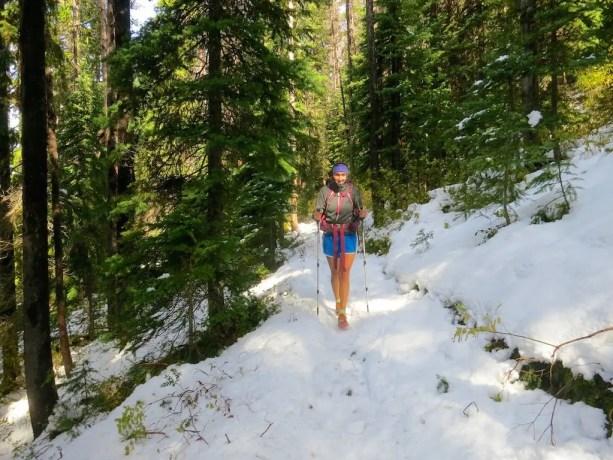 Tigger Hiking
