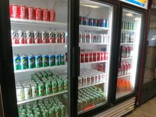 Soda Fridge at KOA Acton