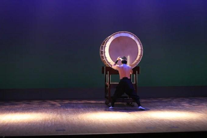 Solo Taiko Drumming 1