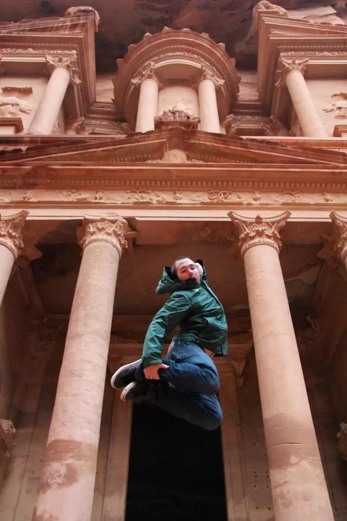 Treasury Petra Jump