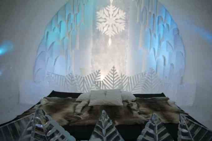 Kiruna Ice Hotel Art Room 7