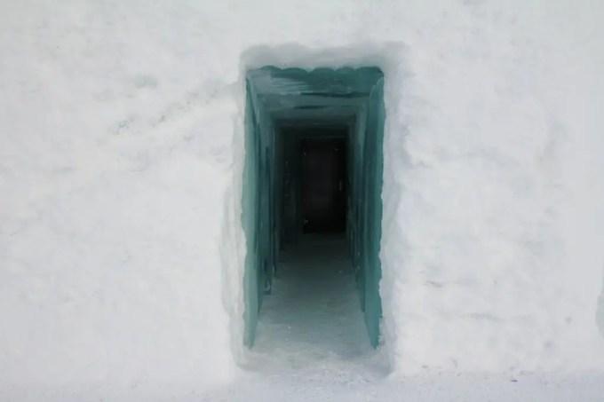 Kiruna Ice Hotel Hallway 1