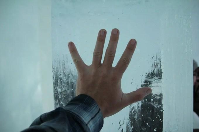 Kiruna Ice Hotel Ice Pillar