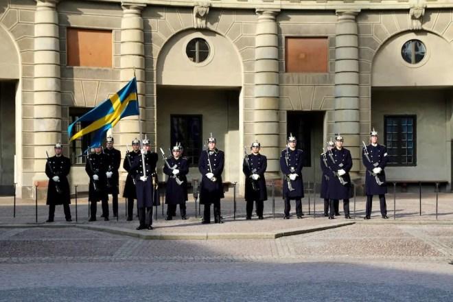 Sweden Stockholm Palace 1