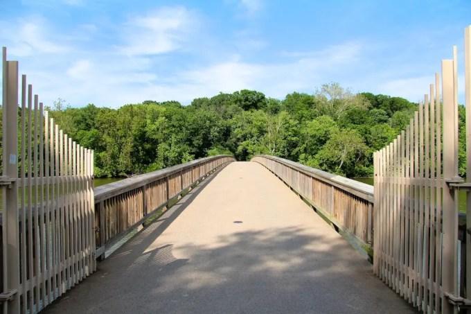 Washington DC Bridge To Roosevelt Island