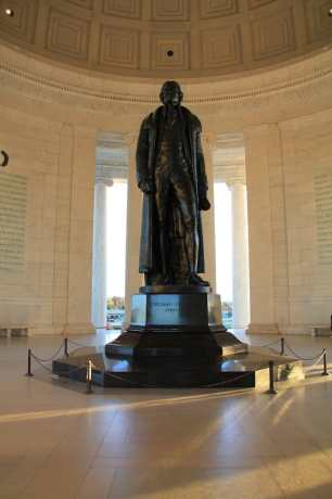 Washington DC Jefferson Monument Statue