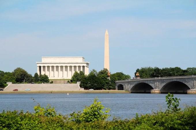 Washington DC Lincoln Washington Monument
