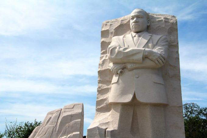Washington DC MLK Monument