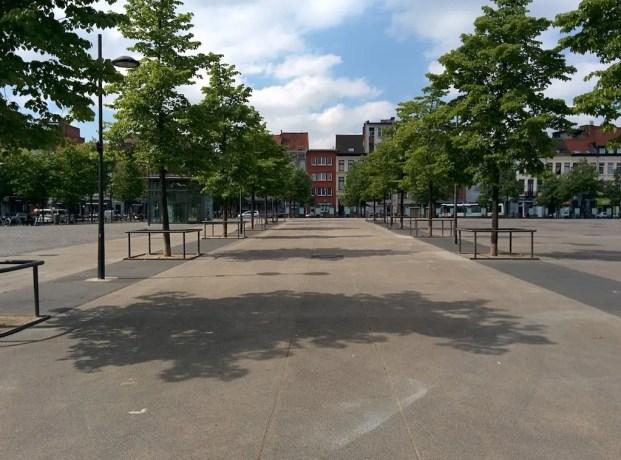 Belgium Antwerp Plaza