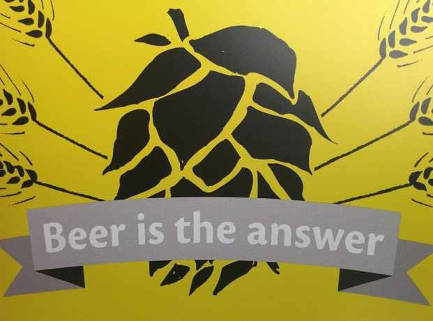 Beer Is The Answer Belgium
