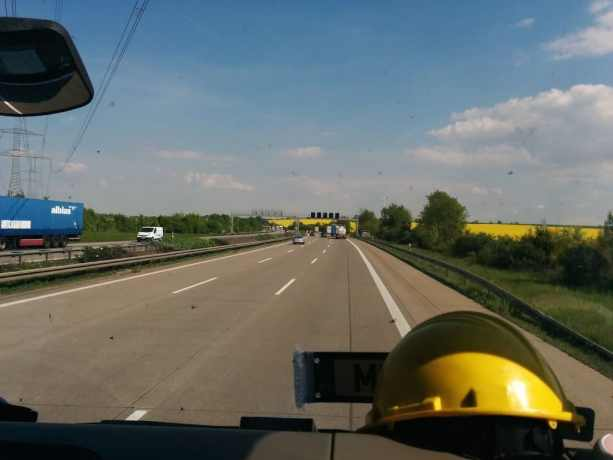Germany Hitchhiking Ride 4