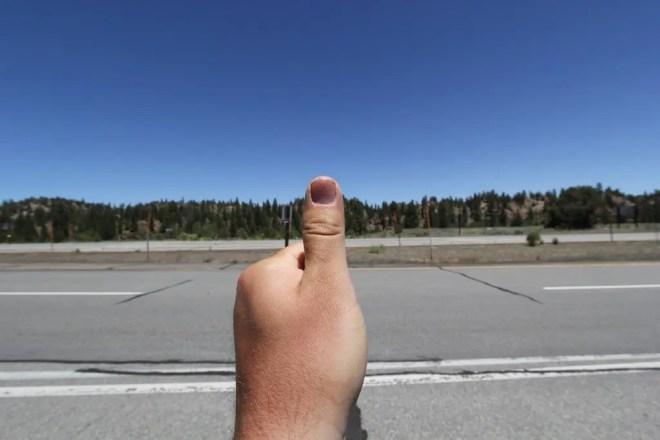 Sierra Thumb Hitchhiking