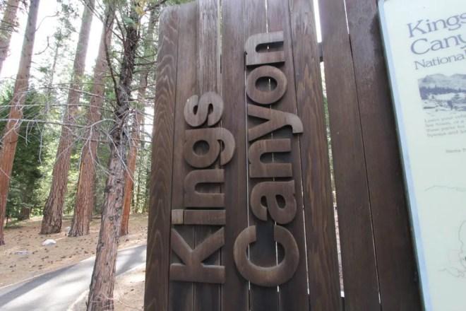 Kings Canyon Sign