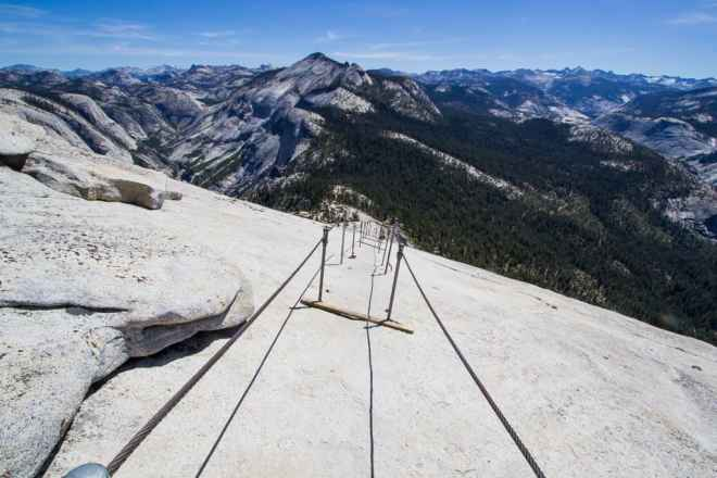 Half Dome Cables Top
