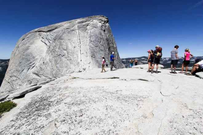 Halfdome From Subdome