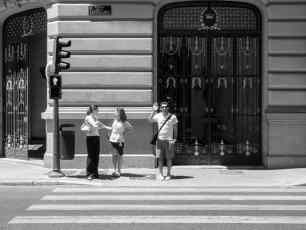 Madrid Black And White