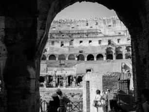 Colosseum Black And White